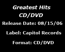 Greatest Hits CD/DVD data