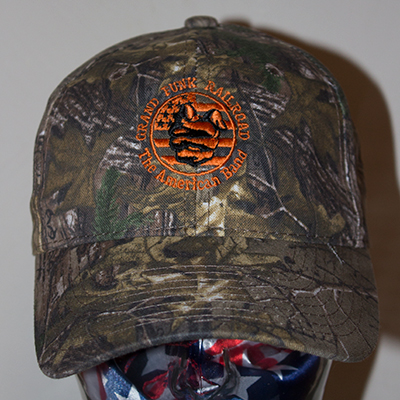 All camo hat