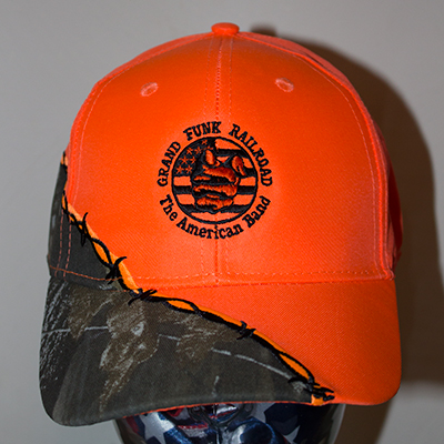 Flag Flame Hat front
