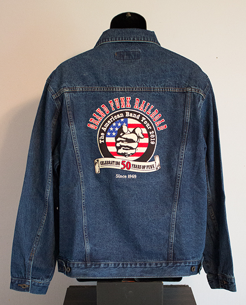 50YOF denim jacket back